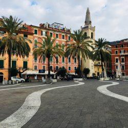 Piazza Garibaldi verso la Chiesa si San Rocco