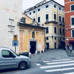 Chiesa di San Rocco a Lerici zona pedonale. Location Scouting Lerici - duzimage